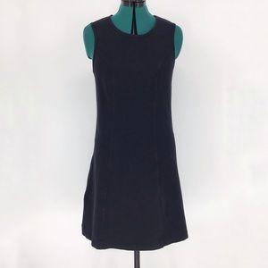 Jockey Stretchy Sleeveless Black Dress, Medium